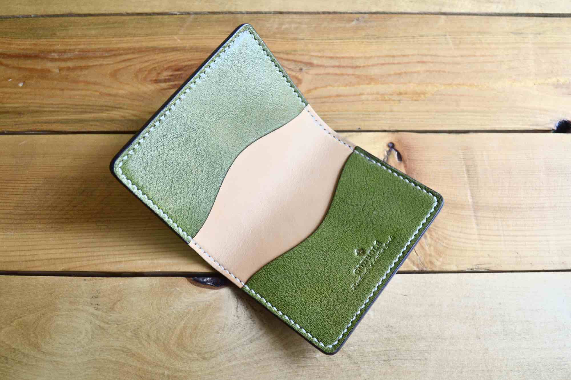 Business Card Holder - Olive