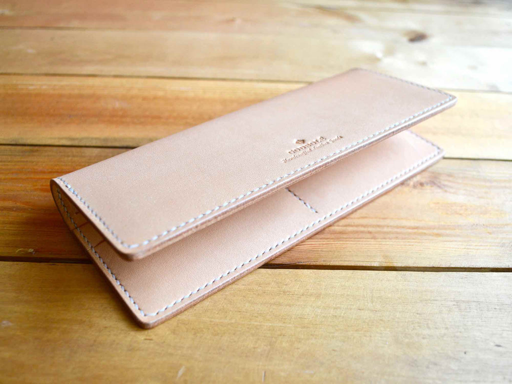 Long Bifold Wallet - Nude