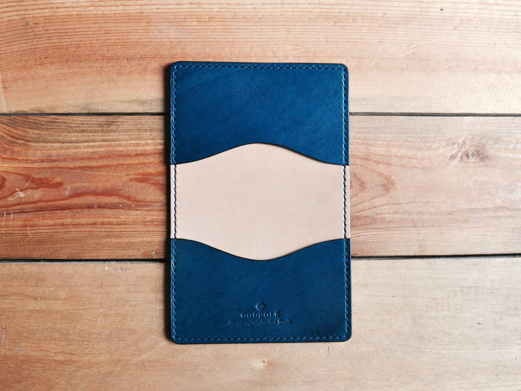 Business Card Holder - Navy