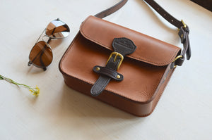 Isabelle - Natural Tan Crossbody