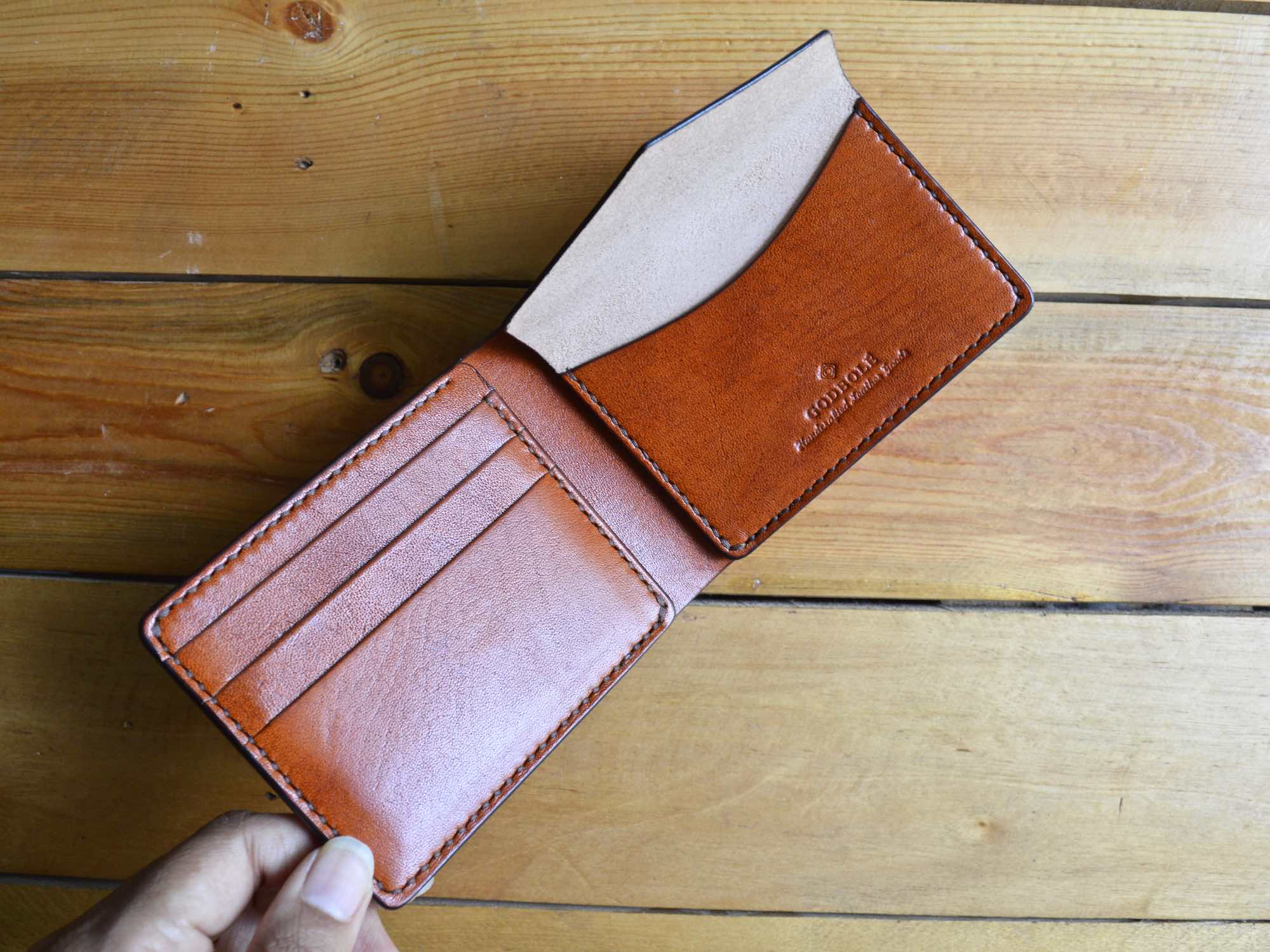 Coin Pocket Wallet - Chestnut Brown