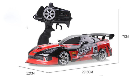 Dodge Viper Drift Toy Dimensions