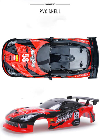 Dodge Viper Drift Toy PVC Shell