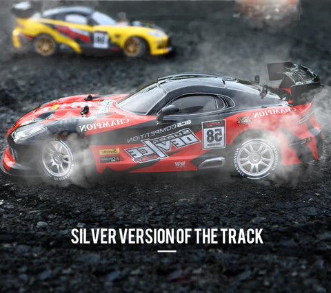 Dodge Viper Drift Toy Silver Version of the track