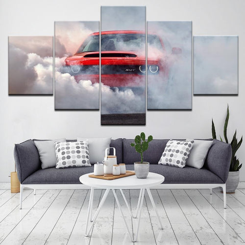 Dodge Demon Wall Art