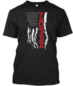 Mopar US Flag Tee Black
