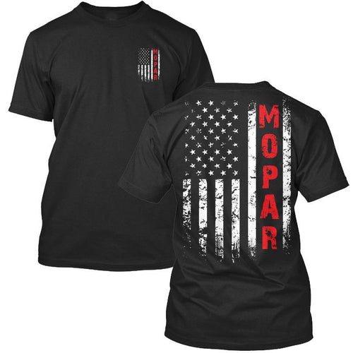 Mopar US Tee Black