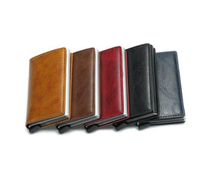 RFID Anti Theft Card Wallet Collection