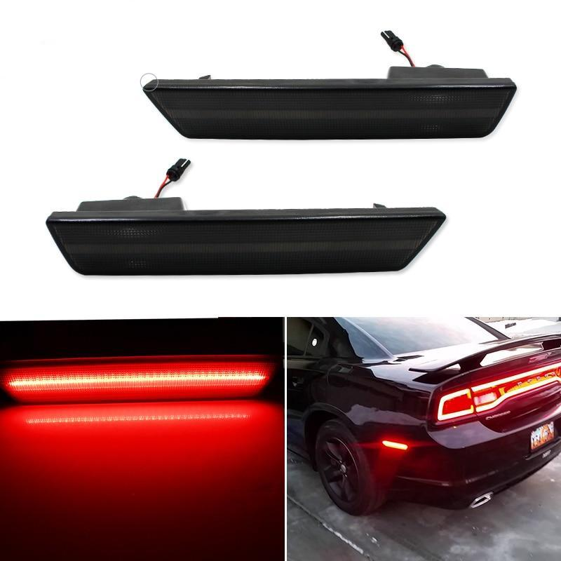 Smoked Lens Rear Side Marker Lamps