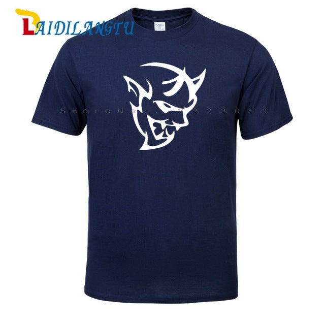 New Fashion Short Sleeve T-shirt  DODGE DEMON charger challenger hellcat men tshirt men's tee shirts tops men T-shirt
