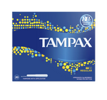 Tampax Regular Plastic Applicator Tampons