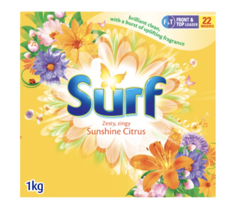Surf Sunshine Citrus Front & Top Loader Powder