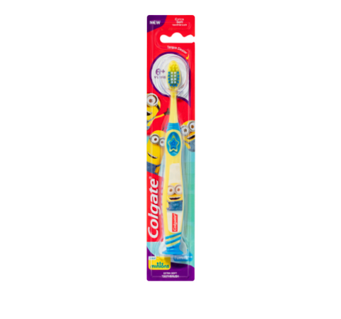 Colgate Kids Smiles Extra Soft Minions Toothbrush Ages 5+
