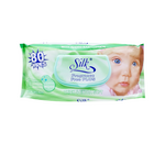 Silk Fragrance Free With Baby Lotion Quality Wipes