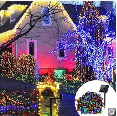 Solar Christmas Lights Waterproof LED 10 meters