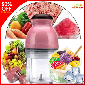 All in 1 Kitchen Cutter Blender Mincer  Mixer Food Processor Capsule