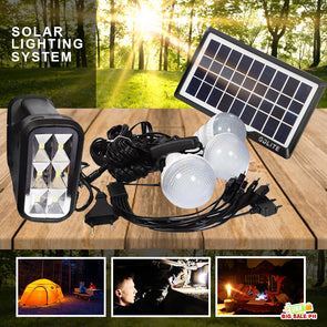 Solar Light System Kit