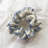 Scrunchie - Golden Blue