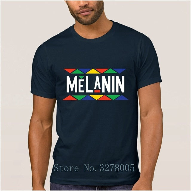 Unique Men's Top Quality Melanin Tshirt