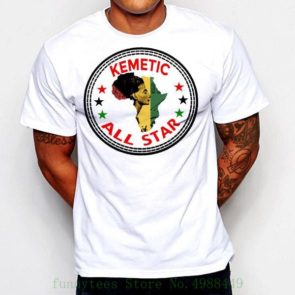 Kemetic Pan African T-shirts