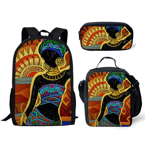 African Art Backpack