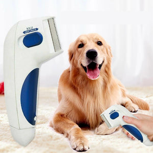 FLEA KILLER ELECTRIC COMB - GREAT DOCTOR FOR PETS