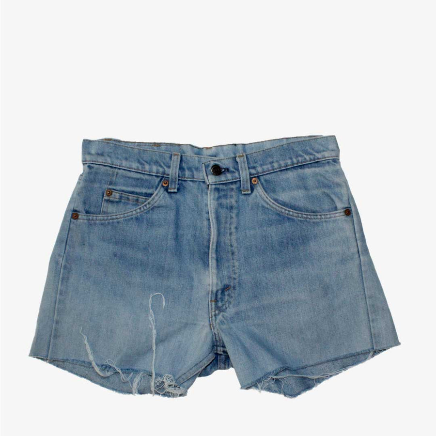 Short Levis etiqueta naranja high