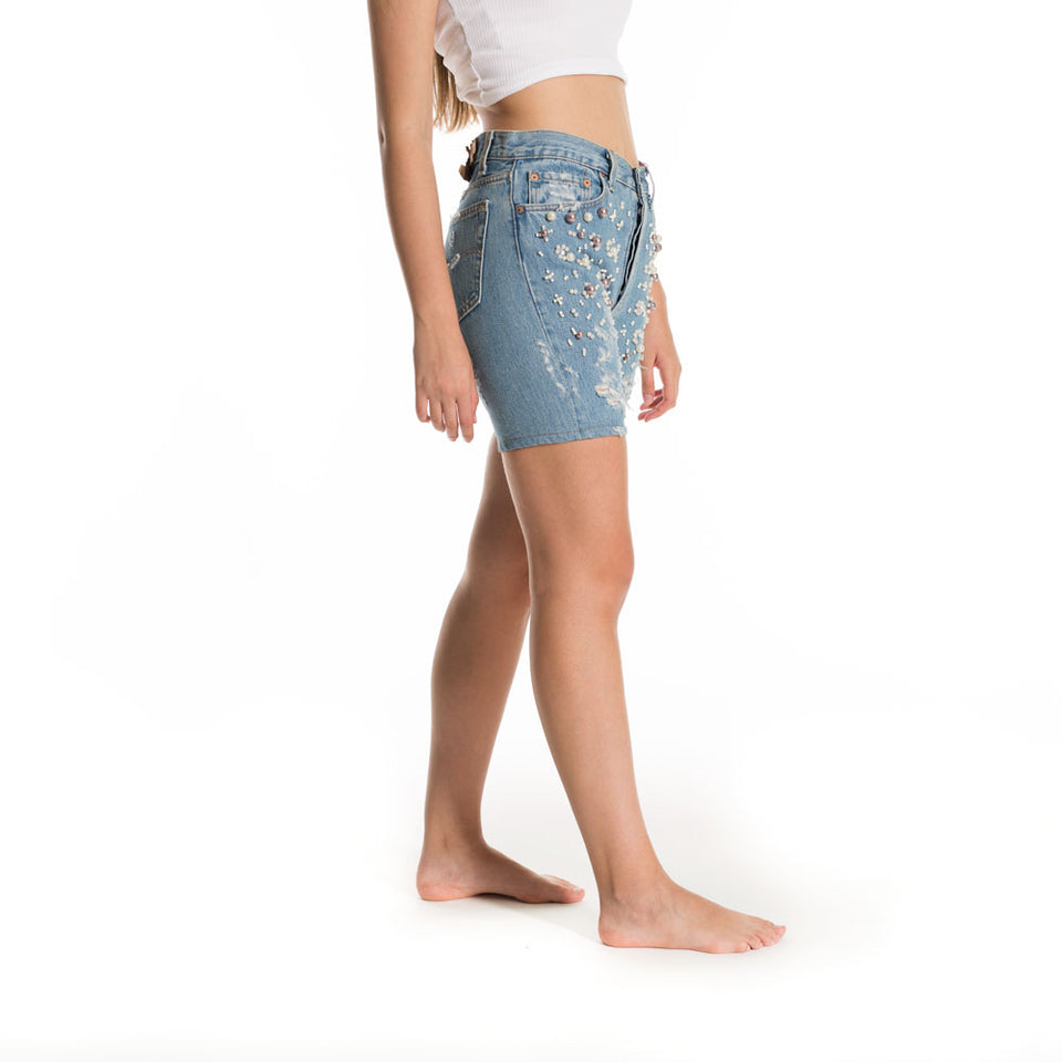Short Denim Levi's Perlas