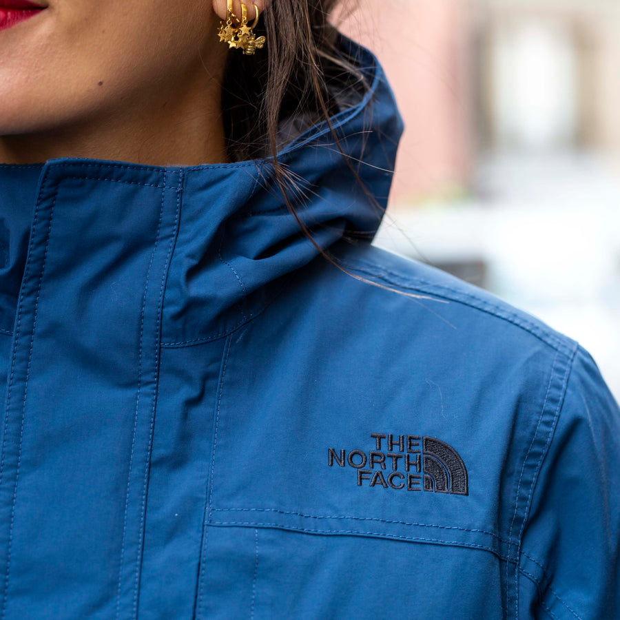 Plumas North Face Azul
