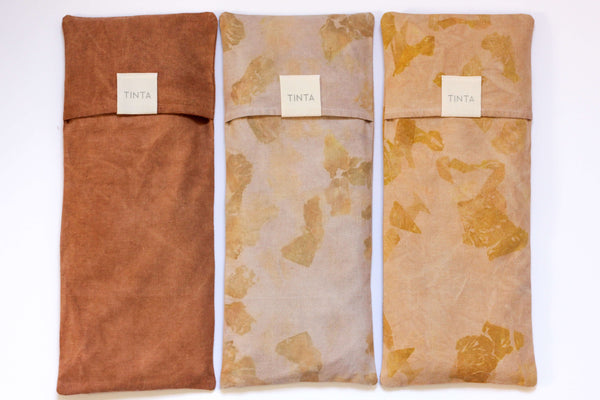 Hemp Heat Pack- Rust / Honey Speck