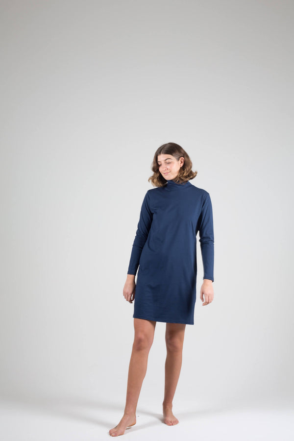 Organic High Neck Tunic - LAST ONE (XS)