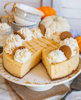 A perfect combination of cream cheese, pumpkin, maple, cinnamon and vanilla! Delicious!