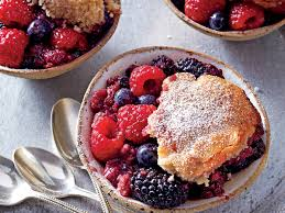 Berries & Cobbler