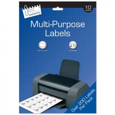 10 Multi-Purpose Labels