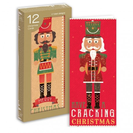 12 Portrait Christmas Cards Nutcracker