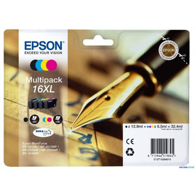 Epson 16XL Multipack Original Ink Cartridge