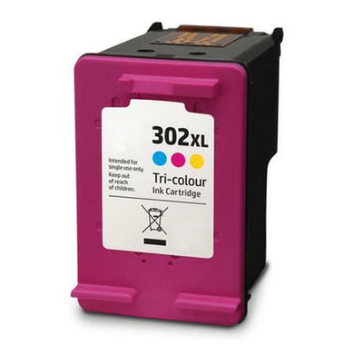 HP 302 XL Tri-Colour Compatible Ink Cartridge