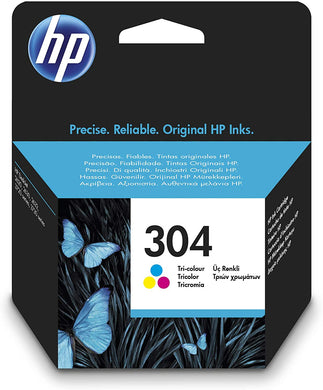 HP 304 Tri-Colour Original Ink Cartridge