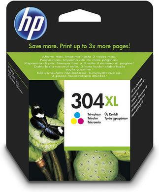 HP 304 XL Tri-Colour Original Ink Cartridge