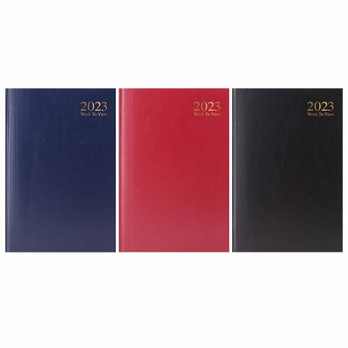 2020 A5 Week to View Desk Diary