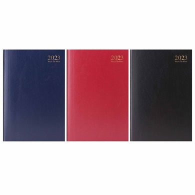 2020 A4 Week to View Desk Diary