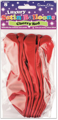 Cherry Red Latex Balloons