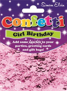 Girl Birthday Confetti