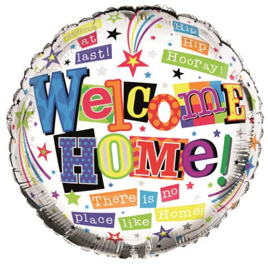 Welcome Home Helium Balloons