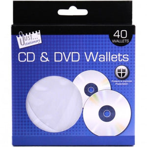 40 CD & DVD Wallets