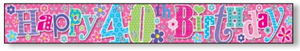 Age 40 Banner Female