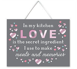 In My Kitchen Love Is The Secret Ingredient