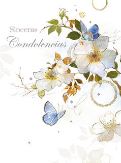 Sinceras Condolencias