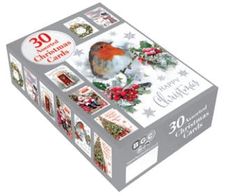 Bumper Boxed Cards: 30 Traditional Assortment