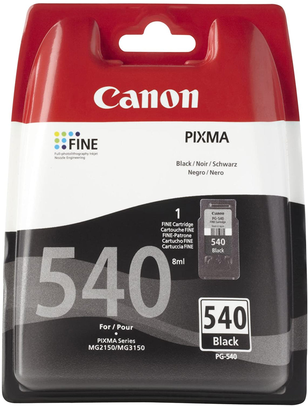 Canon 540 Black Original Ink Cartridge